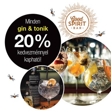Óriási Gin & Tonik Akció