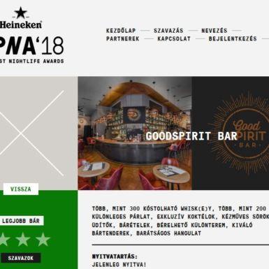 Budapest Nightlife Awards'18